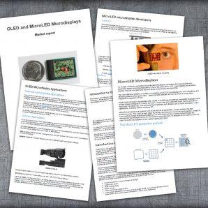 OLED and MicroLED Microdisplays